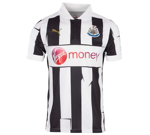 Newcastle United Home Kit 12 13