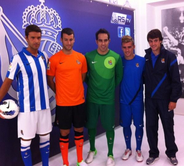 Nike Real Sociedad Jersey 2012