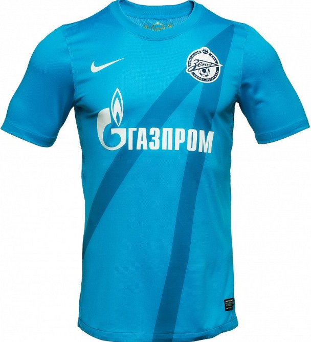 Nike Zenit Football Shirt 2012-13