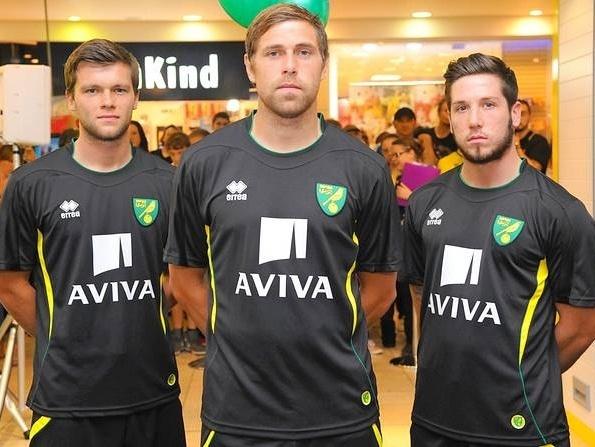 Norwich City Black Shirt 2013