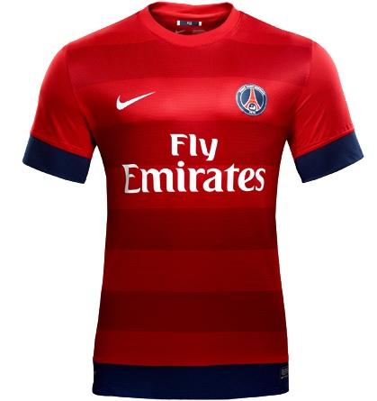 PSG Away Kit 2012/13