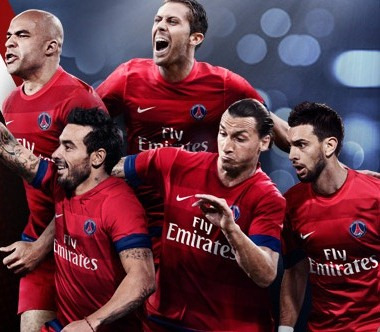 Paris Saint Germain  Ibrahimovic 2012 Kit