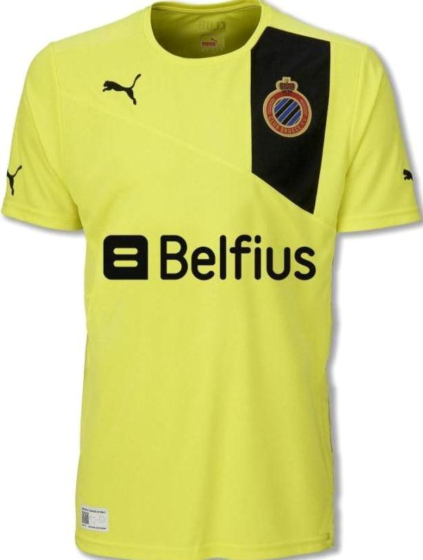 Puma Club Brugge Away Shirt 2013