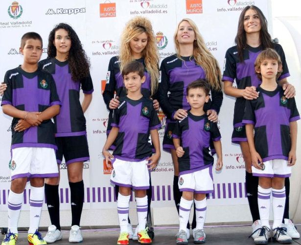 Real Valladolid Away Kit 2012