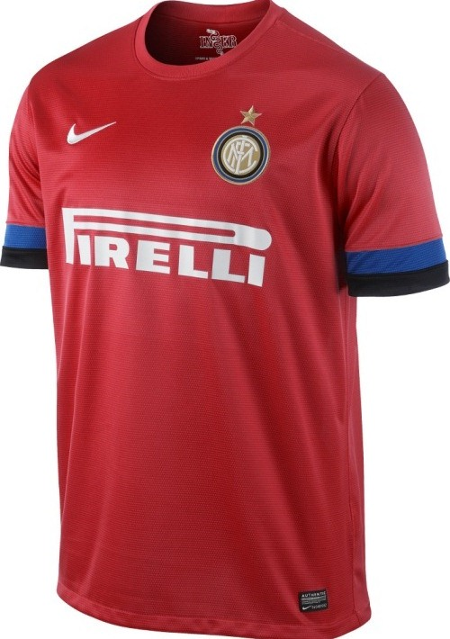 Red Inter Milan Kit 12-13
