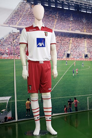 SC Braga Football Strip 2012