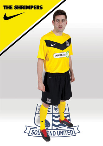 Southend Away Kit 12 13