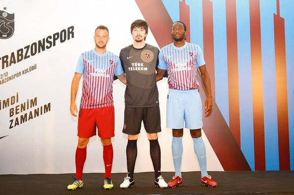 Trabzonspor Soccer Jersey 2012