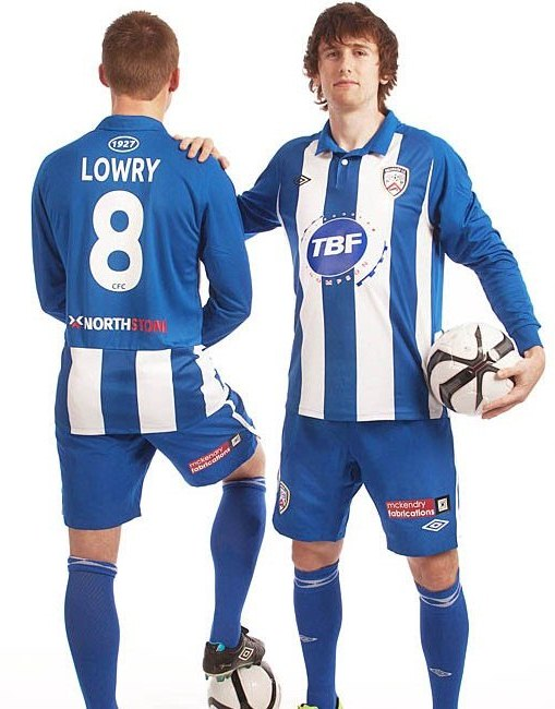 Umbro Coleraine Kit 2012