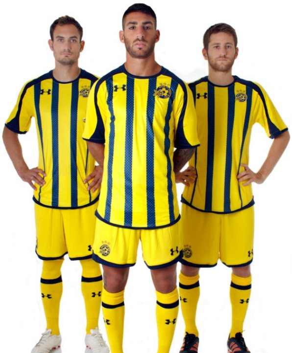 Under Armour Maccabi Tel Aviv Kit 2012