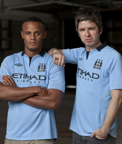 Vincent Kompany 2012 Manchester City Kit