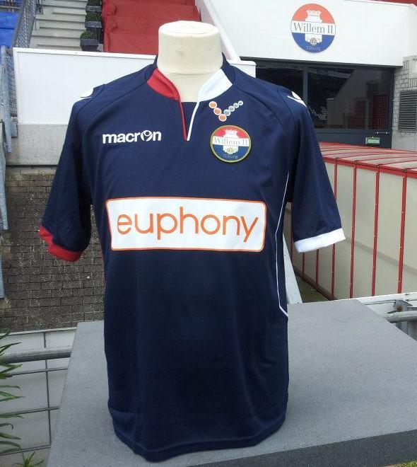 Willem II Tilburg Jersey 2012