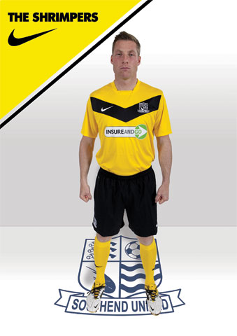 Yellow Southend United Kit 2012