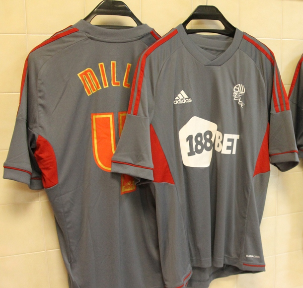Bolton Third Kit 12 13