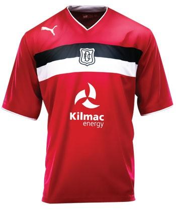 Dundee FC Third Kit 12 13