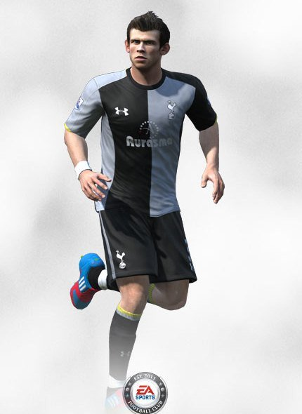 FIFA 13 Tottenham Third Kit Gareth Bale