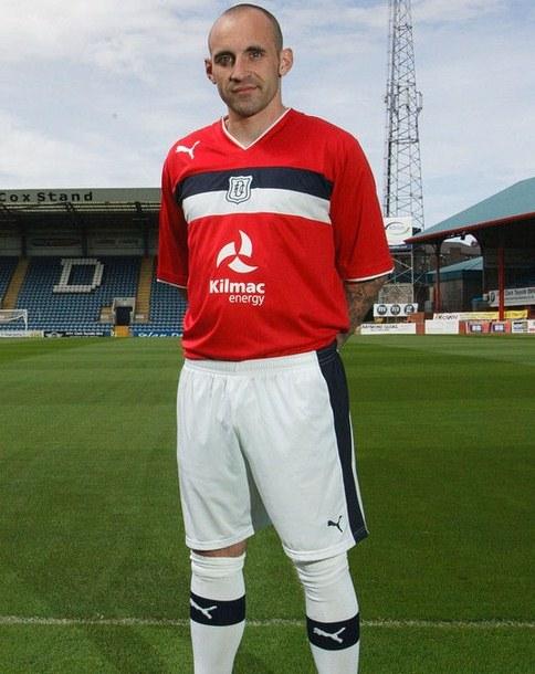 Mark Stewart Dundee FC 2012 Jersey