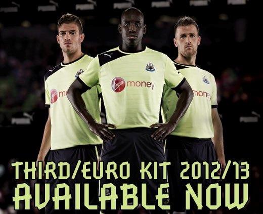 NUFC Euro Kit 2012