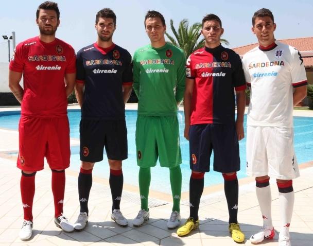 New Cagliari Kit 12 13