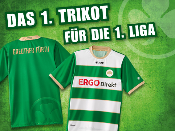 New Greuther Furth Shirt 2012