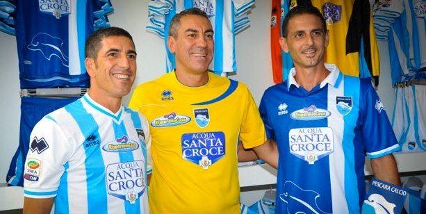 New Pescara Jersey 2012