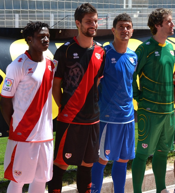 New Rayo Vallecano Jersey 2012