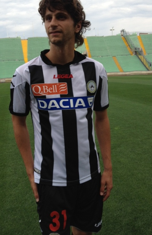 New Udinese Jersey 2013