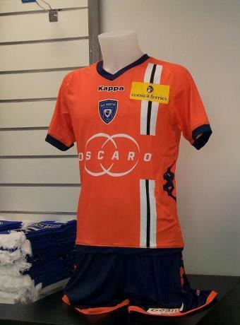Orange Bastia Maillot 2012