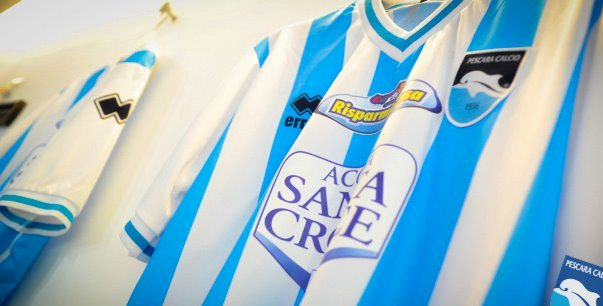 Pescara Home Shirt 2012