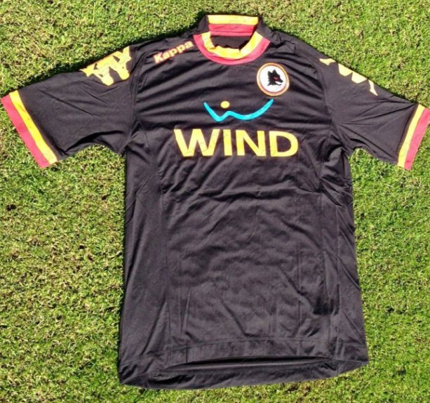 outlet store 899a7 50a0c New AS Roma Third Kit 12/13- Kappa Roma 3rd Jersey 2012/2013 ...