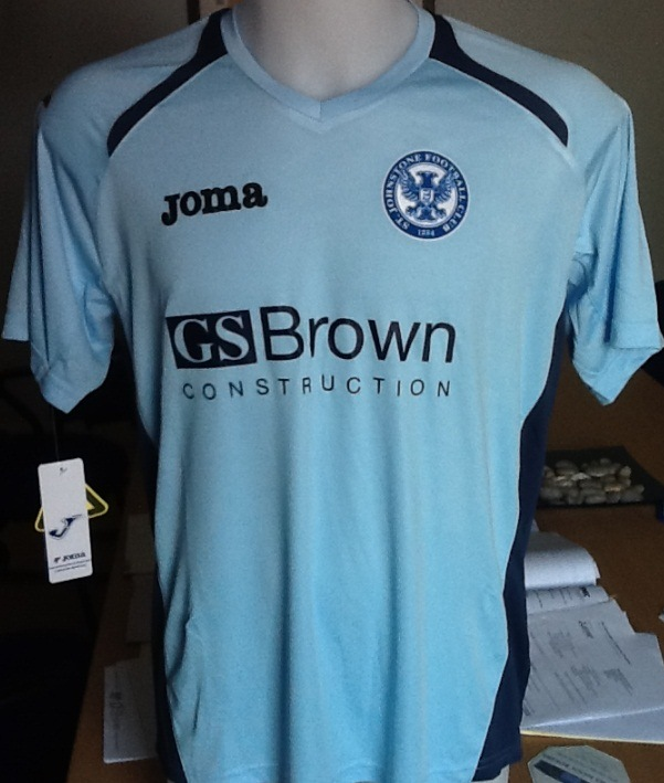 St. Johnstone Away Strip 2012 13