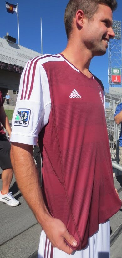 Colorado Rapids New Kit 2013-14