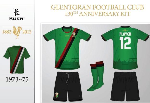 Glentoran Anniversary Top