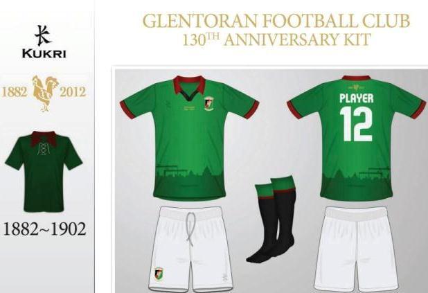 Glentoran Kit Vote 2012