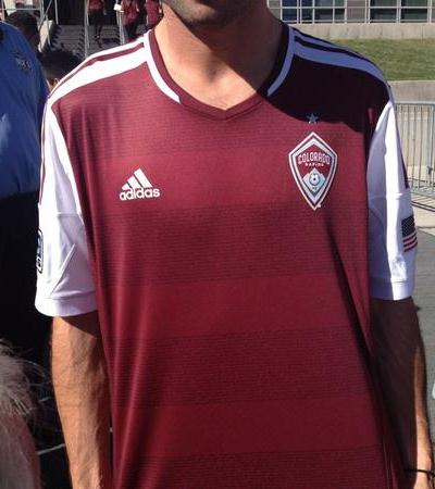 New Colorado Rapids Jersey 2013- Adidas Rapids Home Kit 2013-14 ... e21b8117e