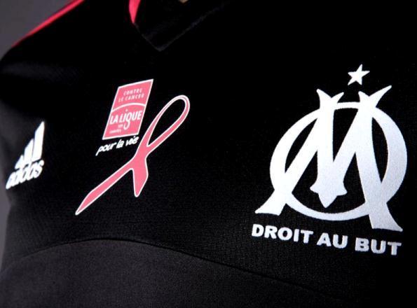Black Marseille Jersey 2012