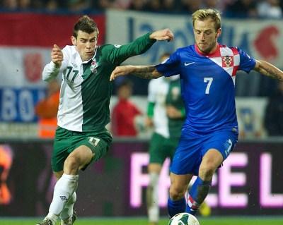 Gareth Bale Wales Croatia Kit