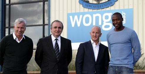 Newcastle United Wonga