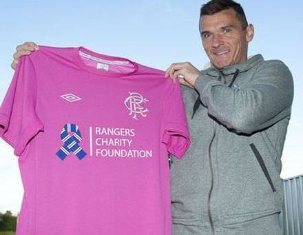 Rangers Charity Foundation Kit 2013