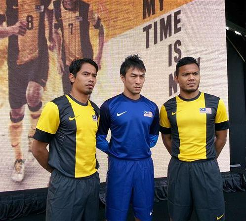 Malaysia Suzuki Cup Jersey 2012