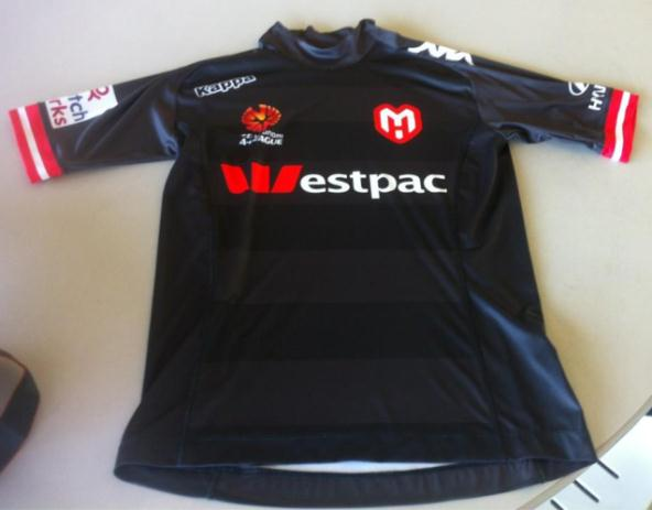 New Melbourne Heart Third Kit 2013