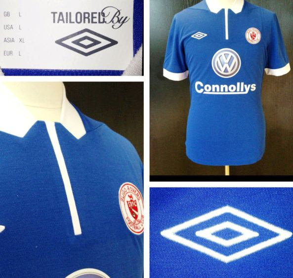Blue Sligo Rovers Third Jersey