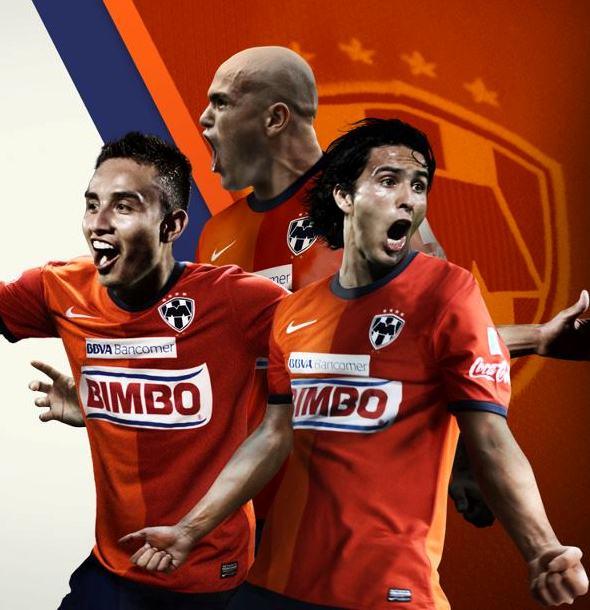 Monterrey 2013 Soccer Jersey