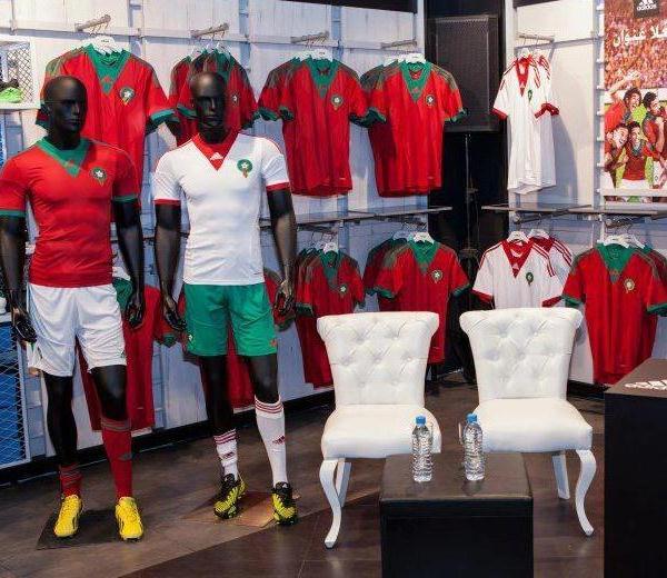 Morocco Adidas Kit 2013