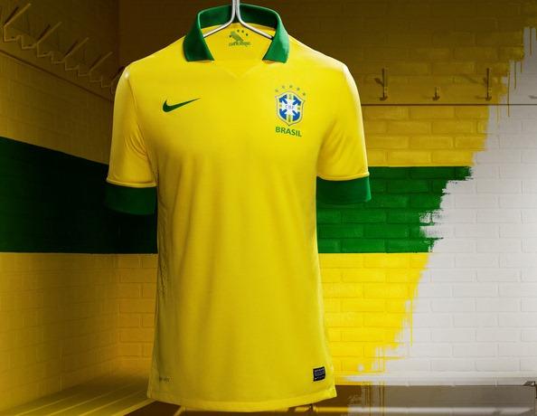 New Brazil 2013 Jersey