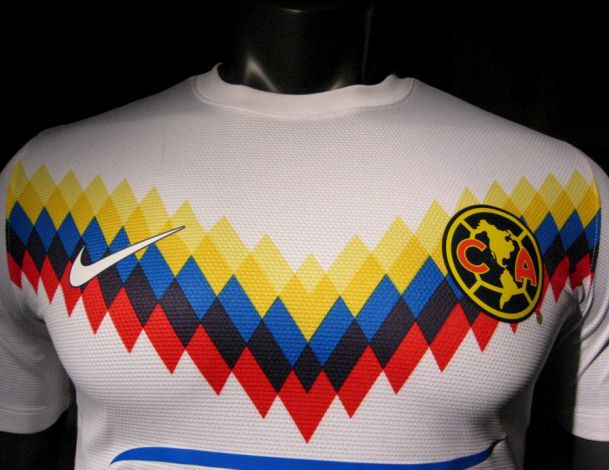 sale retailer 977b7 07104 New Club America 2013 Soccer Jersey- Nike Club America Third ...