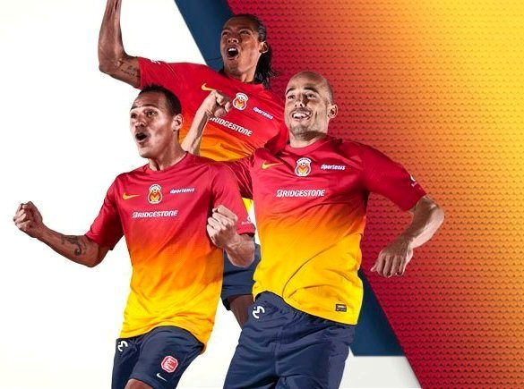 New Morelia Soccer Jersey 2013