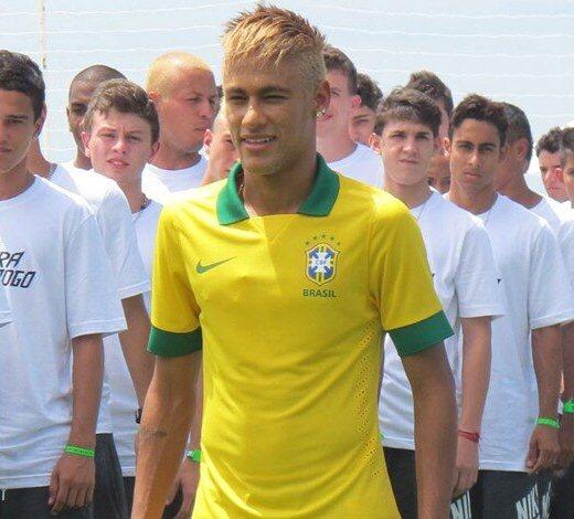 Neymar Brazil Jersey 2013