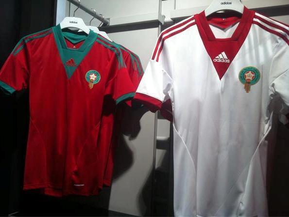 Nouveau Maillot Maroc CAN 2013