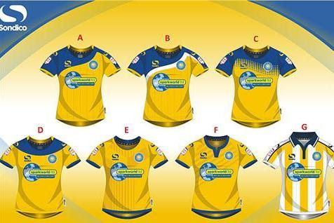 Torquay United 2013 Kit Vote
